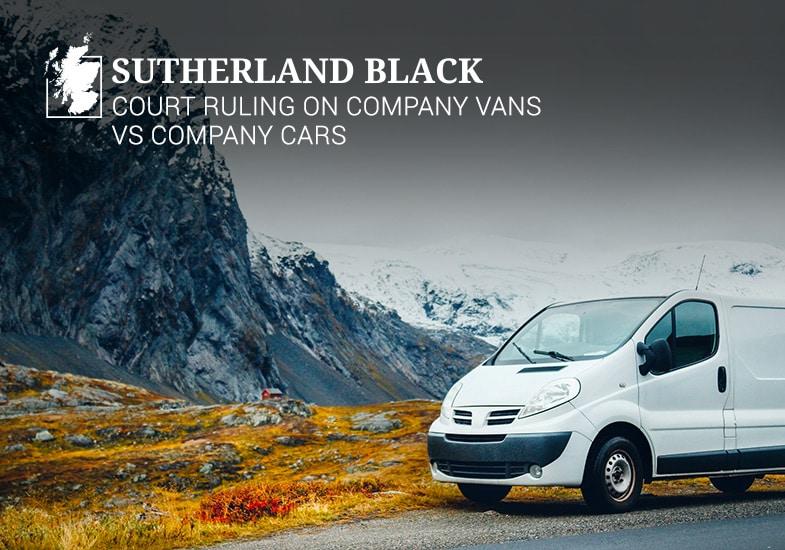 court ruling on company vans vs company cars