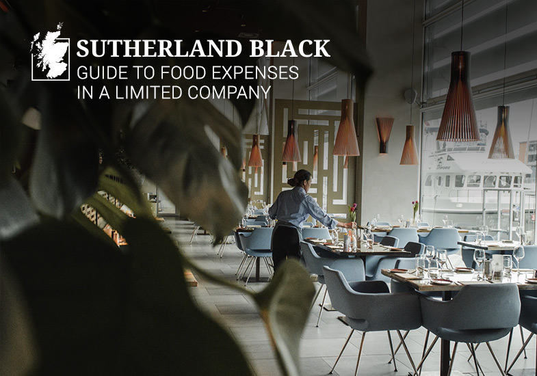guide to food expenses in a limited company