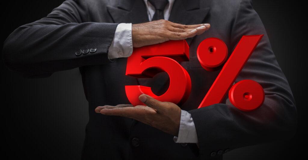 5% VAT